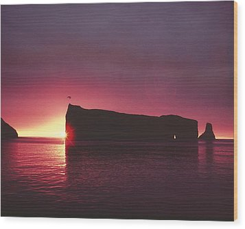 Le Perce Roche Wood Print