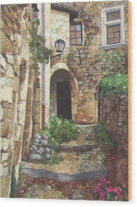 Le Poet Laval IIi Wood Print by Lenore Crawford