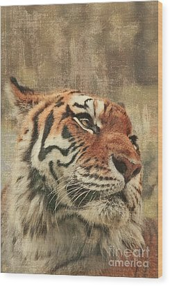 Le Reveur Wood Print by Aimelle