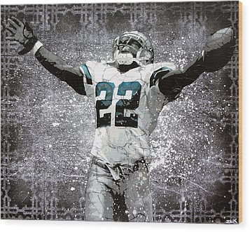 Leader Of The Cowboys Wood Print by Bobby Zeik