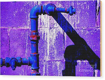 Wood Print featuring the photograph Leaky Faucet IIi by Christiane Hellner-OBrien