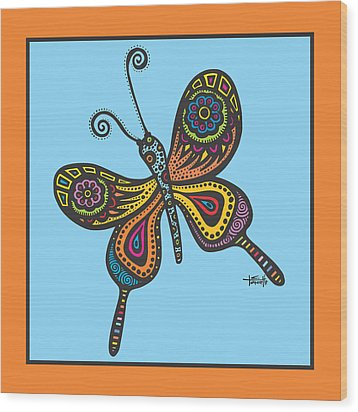 Learning To Fly Wood Print by Tanielle Childers