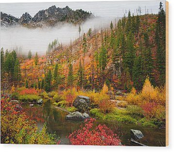 Leavenworth Colors Palette Wood Print