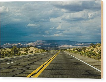 Wood Print featuring the photograph Leaving Arizona by April Reppucci