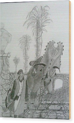 Leaving Gamorra Wood Print by George Harrison