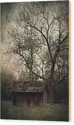 Left Untouched Wood Print by Dale Kincaid