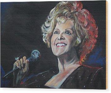 legend Brenda Lee Wood Print