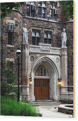 Lehigh University Bethlehem Packard Laboratory Wood Print