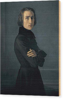 Lehmann, Heinri 1814-1882. Portrait Wood Print by Everett