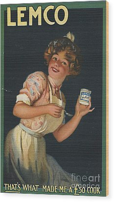Lemco 1910s Uk Wood Print by The Advertising Archives