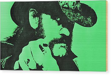 Lemmy Wood Print