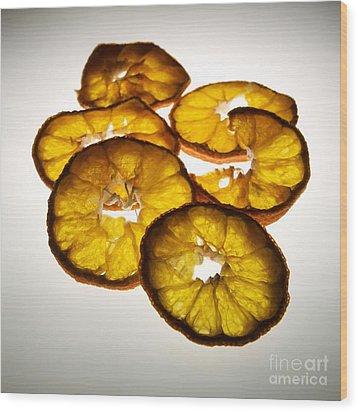 Lemon Wood Print by Bernard Jaubert