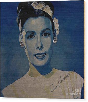 Lena Horne Wood Print