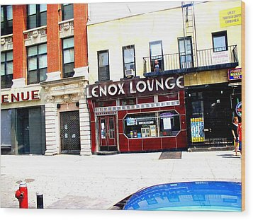 Lenox Lounge Harlem 2005 Wood Print by Cleaster Cotton