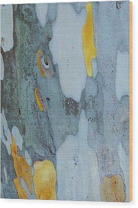 Leopard Tree Bark Abstract No 1 Wood Print