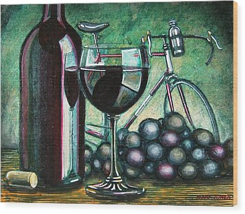 L'eroica Still Life Wood Print by Mark Jones