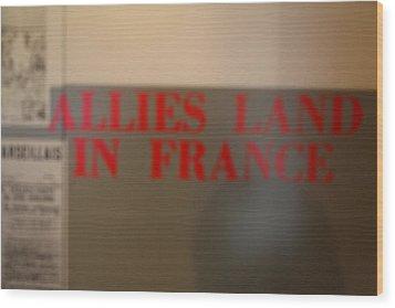 Les Invalides - Paris France - 011350 Wood Print by DC Photographer
