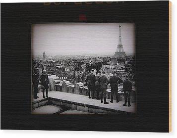 Les Invalides - Paris France - 011367 Wood Print by DC Photographer
