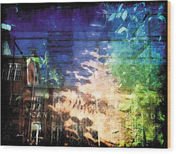 Wood Print featuring the photograph Less Travelled 20 by The Art of Marsha Charlebois
