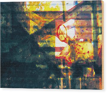 Wood Print featuring the photograph Less Travelled 21 by The Art of Marsha Charlebois