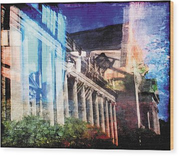 Wood Print featuring the photograph Less Travelled 23 by The Art of Marsha Charlebois