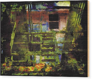 Wood Print featuring the photograph Less Travelled 25 by The Art of Marsha Charlebois