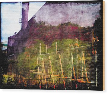 Wood Print featuring the photograph Less Travelled 26 by The Art of Marsha Charlebois