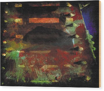 Wood Print featuring the photograph Less Travelled 28 by The Art of Marsha Charlebois