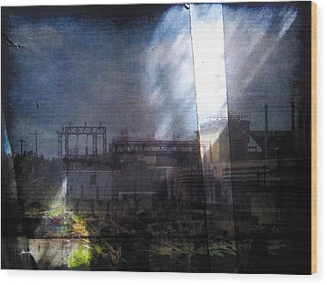 Wood Print featuring the photograph Less Travelled 29 by The Art of Marsha Charlebois