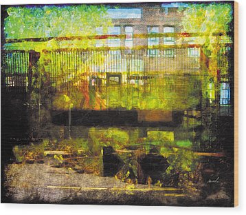 Wood Print featuring the photograph Less Travelled 32 by The Art of Marsha Charlebois