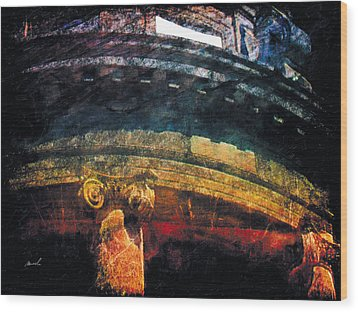 Wood Print featuring the photograph Less Travelled 33 by The Art of Marsha Charlebois