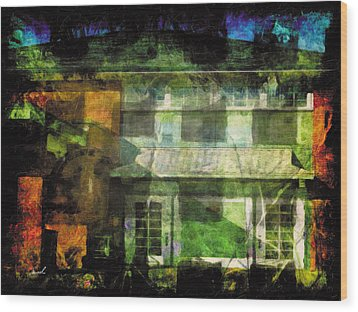 Wood Print featuring the photograph Less Travelled 35 by The Art of Marsha Charlebois