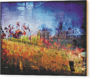 Wood Print featuring the photograph Less Travelled 36 by The Art of Marsha Charlebois