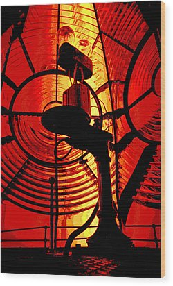 Wood Print featuring the photograph Let There Be Light by Mike Flynn