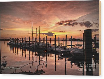 Wood Print featuring the photograph Let Your Light Shine by Phil Mancuso