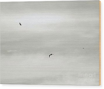 Let Your Spirit Soar Wood Print by Robyn King