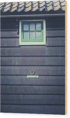Letter Box Wood Print by Joana Kruse