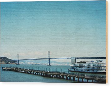 Wood Print featuring the photograph Letters From San Francisco by Lisa Parrish