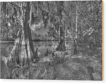 Lettuce Lake Wood Print