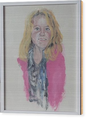 Libby Wood Print by Peter Edward Green