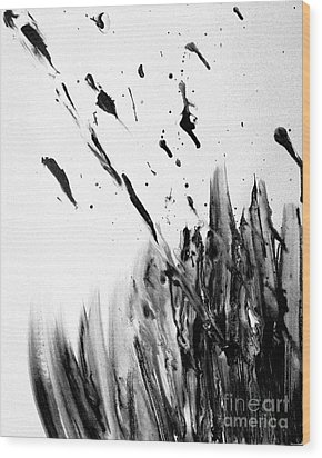 Wood Print featuring the painting Liberation by Christine Ricker Brandt
