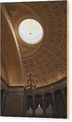 Library Of Congress - Washington Dc - 01133 Wood Print by DC Photographer