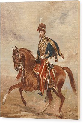 Lieutenant Colonel James Thomas Brudenell  Wood Print by Alfred de Prades