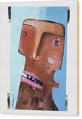 Life As Human Number Eighteen Wood Print by Mark M  Mellon