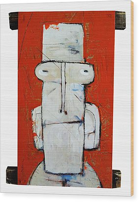 Life As Human Number Ten Wood Print by Mark M  Mellon