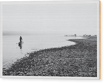 Life At Mekong River Wood Print by Setsiri Silapasuwanchai