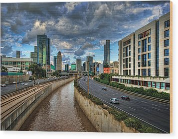 Wood Print featuring the photograph Life In The Fast Lane by Ronsho