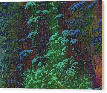 Life Wood Print by Lenore Senior