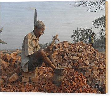 Life Like This Wood Print by Shah Aziz