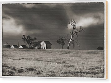 Light After The Storm Wood Print by James Steele